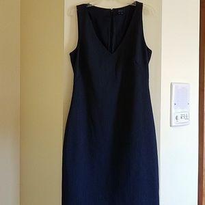 Theory v neck wool dress